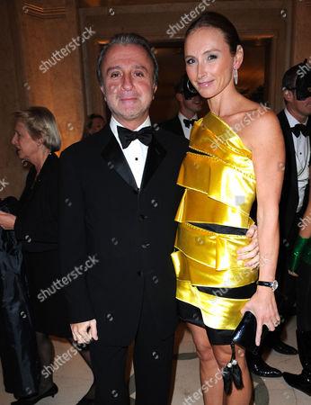 Rafi Manoukian and his wife Jo Manoukian