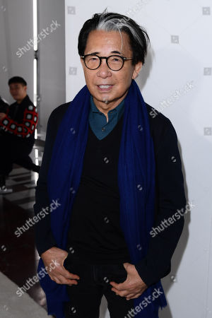 Kenzo Takada in the front row