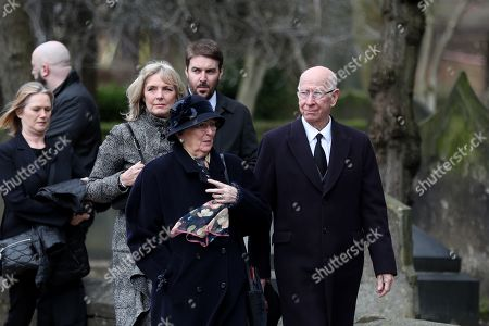 Editorial photo of Gordon Banks Funeral, Stoke Minster, Stoke, UK - 04 Mar 2018