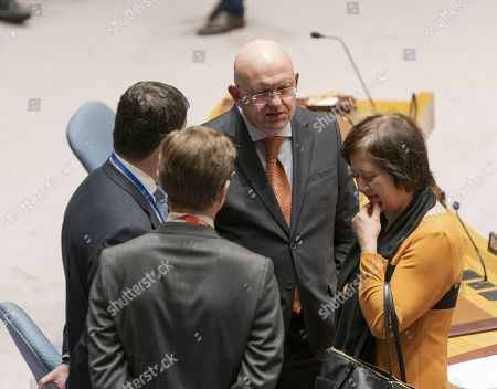 Vasily Nebenzya Permanent Representative of Russian Federation
