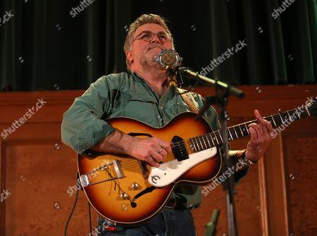 Editorial image of Chris Woods in concert, London, UK - 02 Mar 2019