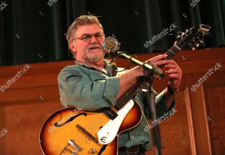 Stock Image of Chris Woods in concert, Cecil Sharp House, Camden