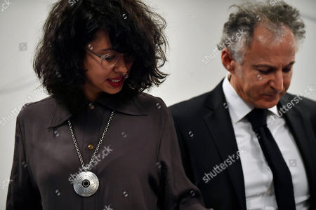 Editorial image of Carlos Ghosn family's Defense Lawyer during press conference, Paris, France - 04 Mar 2019