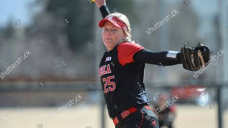 Stock Photo of Lindsey Walljasper during an NCAA softball game on in Fort Collins,Colo