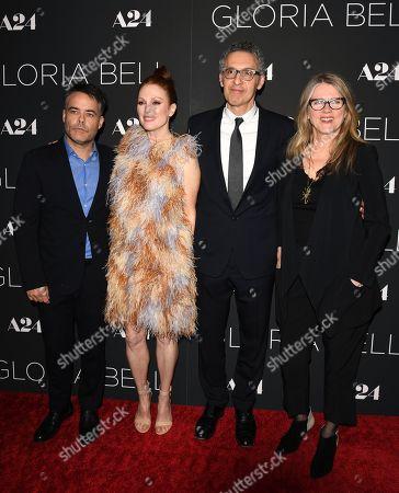 Sebastian Lelio, Julianne Moore, John Turturro and Barbara Sukowa
