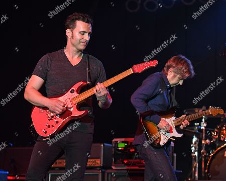Stock Image of Dweezil Zappa, Eric Johnson