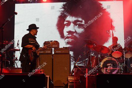 Editorial image of Experience Hendrix at The Pompano Beach Amphitheater, Pompano Beach, USA - 03 Mar 2019