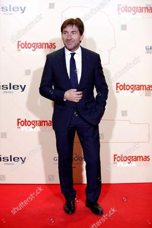 Antonio de la Torre poses while arriving at the Fotogramas de Plata 2018 awards in Madrid, Spain, 04 March 2019.