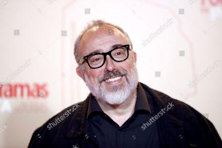 Alex de la Iglesia poses while arriving at the Fotogramas de Plata 2018 awards in Madrid, Spain, 04 March 2019.