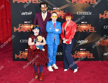 Editorial photo of 'Captain Marvel' Film Premiere, Arrivals, El Capitan Theatre, Los Angeles, USA - 04 Mar 2019