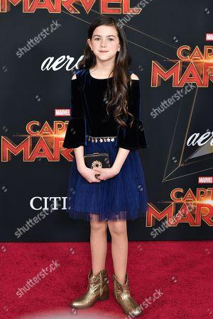 Editorial picture of 'Captain Marvel' Film Premiere, Arrivals, El Capitan Theatre, Los Angeles, USA - 04 Mar 2019