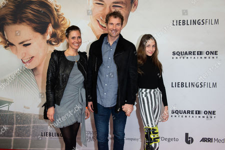 Jens Lehmann and  Conny and  Lieselotta