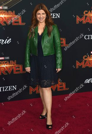 """Rachel Nichols arrives at the world premiere of """"Captain Marvel"""", at the El Capitan Theatre in Los Angeles"""