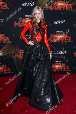 Editorial photo of 'Captain Marvel' film premiere, Arrivals, El Capitan Theatre, Los Angeles, USA - 04 Mar 2019