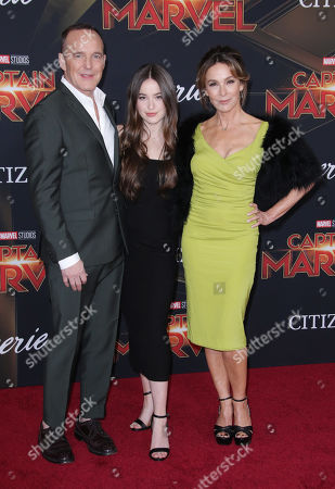 Editorial image of 'Captain Marvel' film premiere, Arrivals, El Capitan Theatre, Los Angeles, USA - 04 Mar 2019