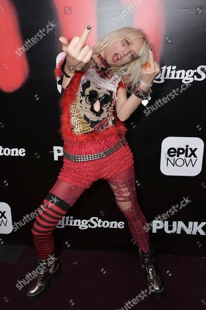 """Kate Crash attends the LA premiere of """"Punk"""" at SIR, in Los Angeles"""
