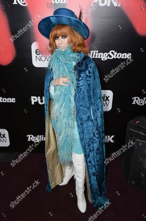 "Linda Ramone attends the LA premiere of ""Punk"" at SIR, in Los Angeles"