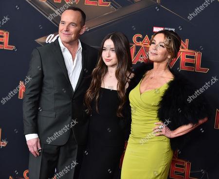 Editorial picture of 'Captain Marvel' Film Premiere, Roaming Arrivals, El Capitan Theatre, Los Angeles, USA - 04 Mar 2019