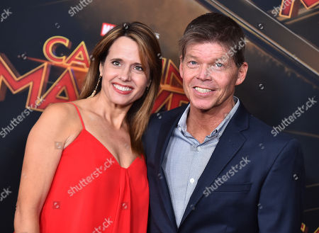 Rob Liefeld and Joy Liefeld