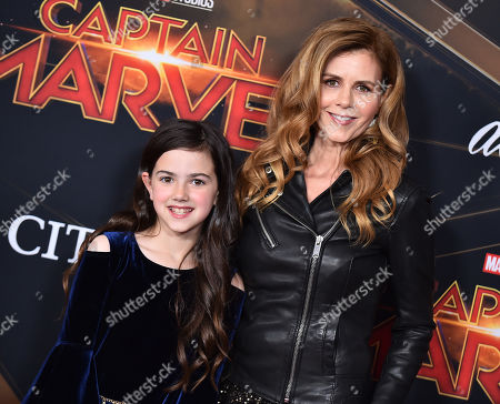 Editorial image of 'Captain Marvel' Film Premiere, Roaming Arrivals, El Capitan Theatre, Los Angeles, USA - 04 Mar 2019