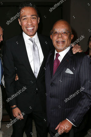 "T. J. Holmes and Henry ""Skip"" Gates, Jr."