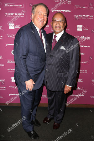 "Howard Milstein and Henry ""Skip"" Gates, Jr."