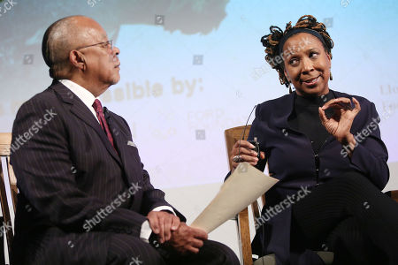 "Henry ""Skip"" Gates Jr. and Kimberle Crenshaw"