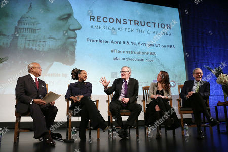 "Editorial image of An Evening with Henry Louis Gates Jr. Launching His New PBS Series ""RECONSTRUCTION: AMERICA AFTER THE CIVIL WAR"", New York, USA - 04 Mar 2019"