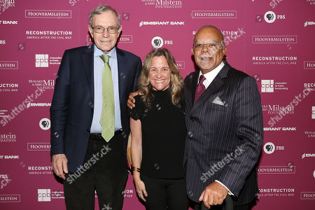 "Stock Image of Eric Foner, Dyllan McGee and Henry ""Skip"" Gates, Jr."