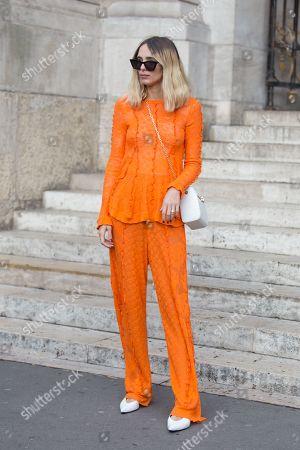 Editorial image of Street Style, Fall Winter 2019, Paris Fashion Week, France - 04 Mar 2019