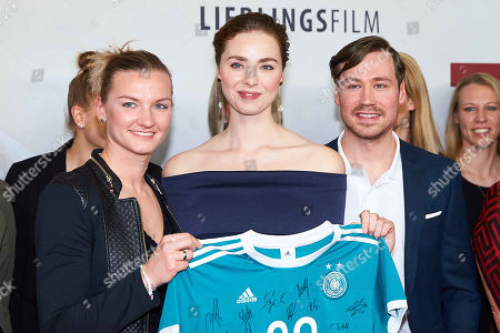 Alexandra Popp of Germany women's soccer team, Freya Mavor, David Kross