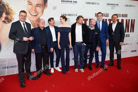 Stock Photo of Reinhard Grindel, John Henshaw, David Kross, Freya Mavor, Marcus H. Rosenmueller, Alwin Munteanu, Friedrich Curtius (DFB) and Ralf Koettker