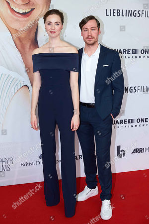 Stock Photo of Freya Mavor, David Kross