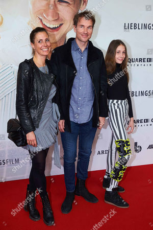 Jens Lehmann, wife Conny, daughter Lieselotta