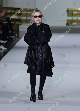 Editorial picture of Agnes B show, Runway, Fall Winter 2019, Paris Fashion Week, France - 04 Mar 2019