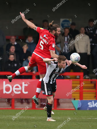 Crawley's Joe McNerney during the EFL League 2 match between Crawley Town and Grimsby Town at the Peoples Pension Stadium in Crawley. 09 March 2019  Photo: James Boardman / Telephoto Images