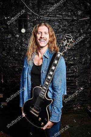 Editorial photo of Andy Ghosh (Turbowolf Guitarist) Portrait Shoot, Bristol - 15 Mar 2018