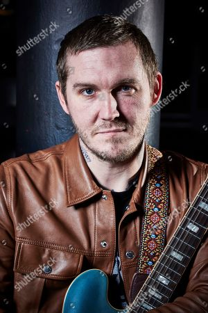Bristol United Kingdom - February 25: Portrait Of American Musician Brian Fallon Guitarist And Vocalist With Brian Fallon & The Howling Weather Photographed Before A Live Performance At Swx In Bristol England On February 25