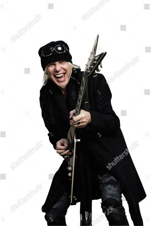 London United Kingdom - December 15: Portrait Of German Musician Michael Schenker Photographed In London On December 15 2017. Schenker Is Best Known As A Solo Artist And A Member Of Rock Groups Ufo And The Scorpions