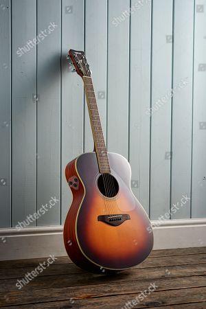 A Yamaha Fs-ta Electro-acoustic Guitar