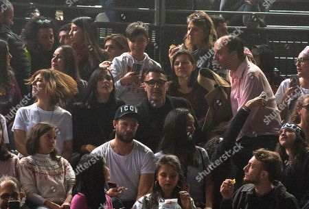 Raul Bova seen at the concert
