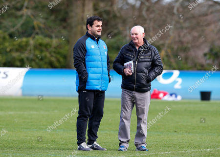 Editorial image of England Training, Rugby Union, Pennyhill Park Hotel, Bagshot, Surrey,UK - 05/03/2019