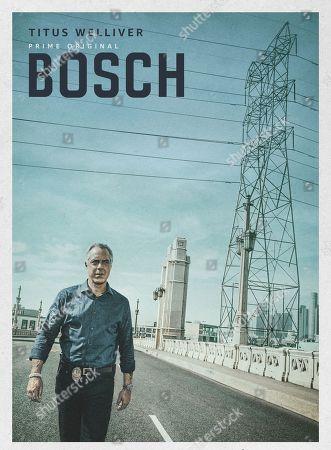 Bosch (2019) Poster Art. Titus Welliver as Harry Bosch