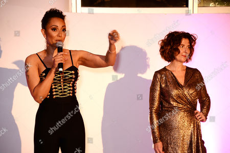 Editorial picture of Women's Aid and Skylon restaurant saw Mel B and Dame Julie Walters host fashion show and charity dinner celebrating International Women's Day, London, UK - 06 Mar 2019
