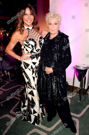 Lizzie Cundy and Dame Julie Walters