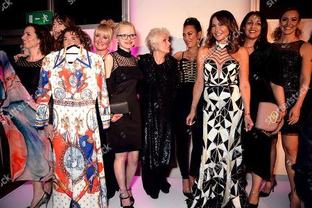 Dame Julie Walters, Melanie Brown, Lizzie Cundy and guests