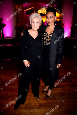 Editorial image of Women's Aid and Skylon restaurant fashion show and charity dinner celebrating International Women's Day, London, UK - 06 Mar 2019