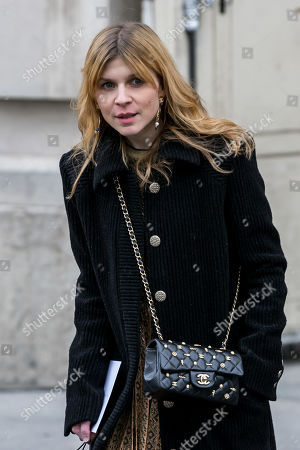 French actress Clemence Poesy leaves the Grand Palais after attending the presentation of the Fall/Winter 2019/20 Women's collection by the late German designer Karl Lagerfeld for Chanel fashion house during the Paris Fashion Week, in Paris, France, 05 March 2019. Karl Lagerfeld died aged 85 on 19 February 2019. His final collection for Chanel is presented at the Grand Palais on the last day of the Paris Fashion Week.