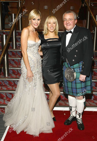 Stock Picture of Jenni Falconer and Tam Cowan with Bev Lyons