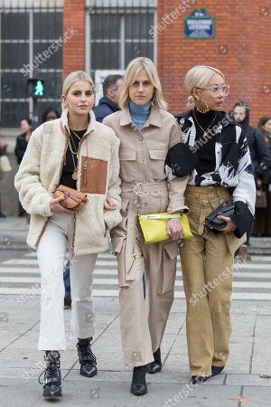 Caroline Daur, Linda Tol, Vanessa Hong